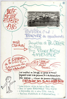 Panneau 1 - Belle-Beille, espoir 1986